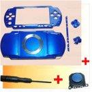 PSP 1000 Full Housing Faceplate Shell Case +Joystick B