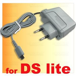 Europe Wall AC Adapter Power Plug for Nintendo DS Lite