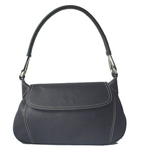 Black Prada Leather Handbag