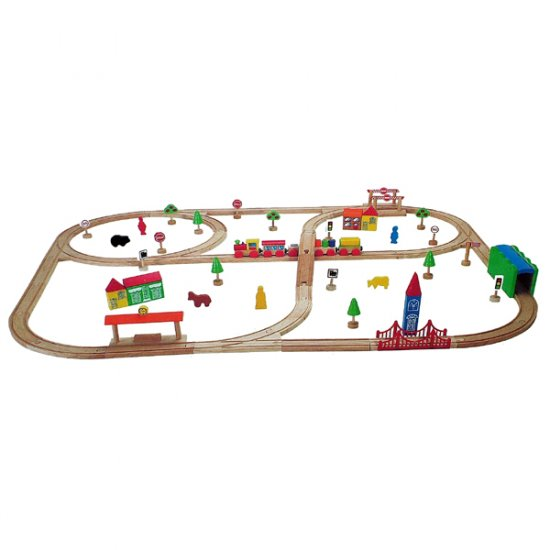 Train Set 80 Pieces