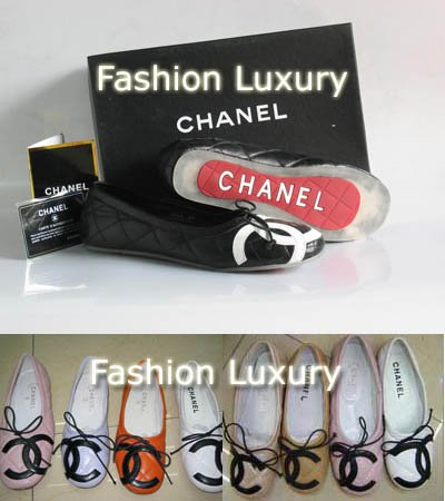 Chanel Cambon Ballet Flat Shoes