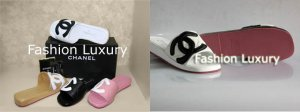 Chanel Cambon Slides sandals