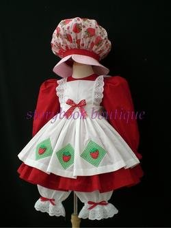 & Strawberry Shortcake Costume Kids / Adults
