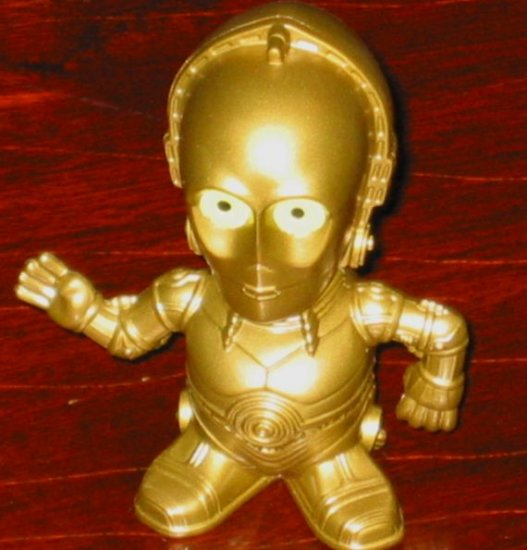 C-3PO Star Wars Burger King Fast Food Toy Episode III Revenge of the Sith ROTS C3PO