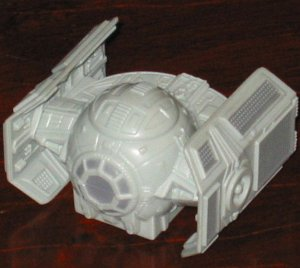 DARTH VADER'S TIE FIGHTER Star Wars Burger King Toy Episode III Revenge of the Sith