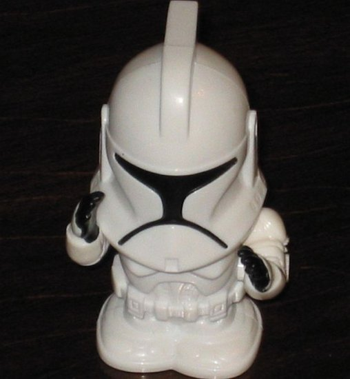 CLONE TROOPER Star Wars Burger King Toy Episode III Revenge of the Sith ROTS Kids Meal