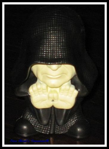 EMPEROR PALPATINE STAR WARS Episode III Revenge of the Sith Burger King Fast Food Toy ROTS
