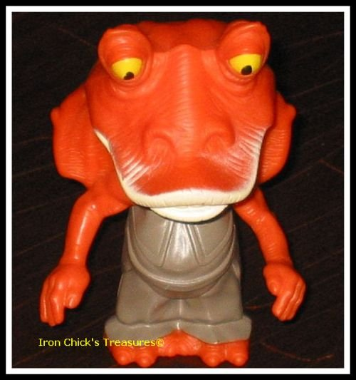 JAR JAR BINKS Star Wars Episode III Revenge of the Sith Toy Burger King ROTS
