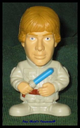 LUKE SKYWALKER Star Wars Episode III Revenge of the Sith Movie Toy Burger King ROTS
