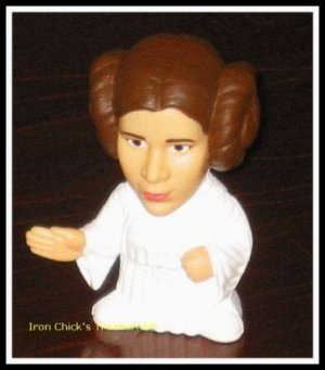 PRINCESS LEIA  Star Wars Episode III Revenge of the Sith Movie Toy Burger King ROTS