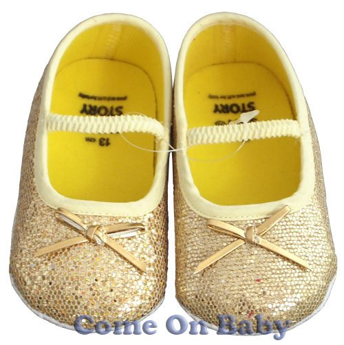 New Infant Girls Toddler Baby Shoes 9-12m (a01501)