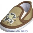 New Infant Boys Toddler Baby Clip-On Shoes 3-6m (c02002)