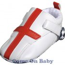 New Infant Boys Toddler Baby Crib Shoes 3-6m (b00701)