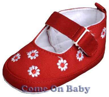 New Infant Girls Toddler Baby Mary Jane Shoes 3-6m (a00803)