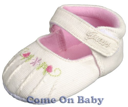 New Infant Girls Toddler Baby Mary Jane Shoes 3-6m (a03301)