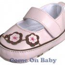 New Infant Girls Toddler Baby Mary Jane Shoes 0-3m (a04701)
