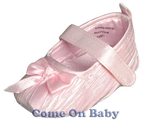 New Infant Girls Toddler Baby Mary Jane Shoes 6-9m (a02701)