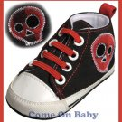 New Infant Boys Toddler Baby Crib Shoes 6-9m (b03202)