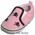 New Infant Girls Toddler Baby Crib Shoes 6-9m (c00201)