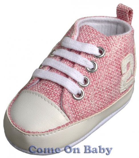 New Infant Girls Toddler Baby Crib Shoes 3-6m (b01105)