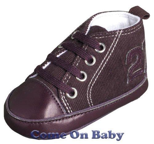 New Infant Girls Toddler Baby Crib Shoes 3-6m (b02301)