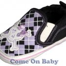 New Infant Girls Toddler Baby Crib Shoes 3-6m (c01501)