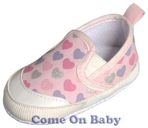 New Infant Girls Toddler Baby Crib Shoes 3-6m (c01002)