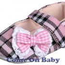 New Infant Girls Toddler Baby Maty Jane Shoes 3-6m (a01002)