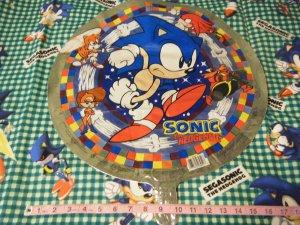 "18"" Sonic Hedgehog Mylar Balloon [Princess Sally Acorn SatAM SEGA Tails Knuckles Robotnik Archie]"