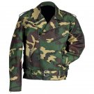 Diamond Plate™ Camouflage Motorcycle Jacket (Large)