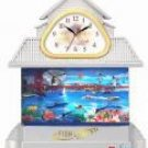 House Aquarium Motion Clock Lamp