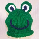 Baby Frog Knitted  Hat Pattern