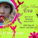 Custom Fairy Invitations DIY Printables