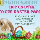 Easter Bunny Egg Hunt Invitation diy Printable Party Invites Personalized Custom Orders