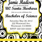 Graduation Invitation diy Printable Party Invites Personalized Custom Orders 2012 Graduation