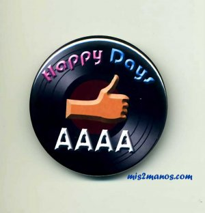 Happy Days Button Badge The Fonz Button Personalized Buttons and Magnets