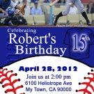 Custom Invitations Personalized DIGITAL Birthday Baseball Invite