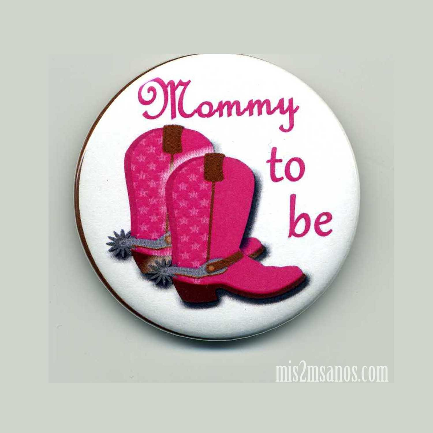 Cowgirl Baby Shower Buttons Personalized Buttons Mommy to Be Custom Buttons