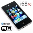 I68-4G Quad Band Dual Cards with Wifi Java Touch Screen Cell Phone