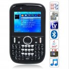 F110 Quad Band Dual Cards with Analog TV Java QWERTY Keyboard Cell Phone