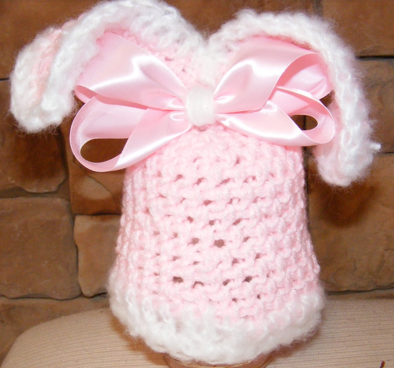 Hunny Bunny hat photo props winter wear baby