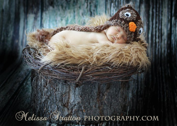 owl hats whoo whooo  photo props /winter wear