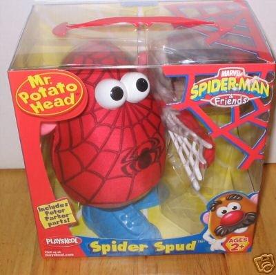 Spiderman Spidey Spud Mr. Potato Head