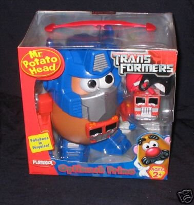 Mr. Potato Head Optimash Prime Transformer