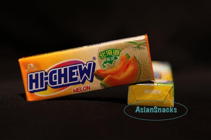 Morinaga Hi Chew Melon flavor