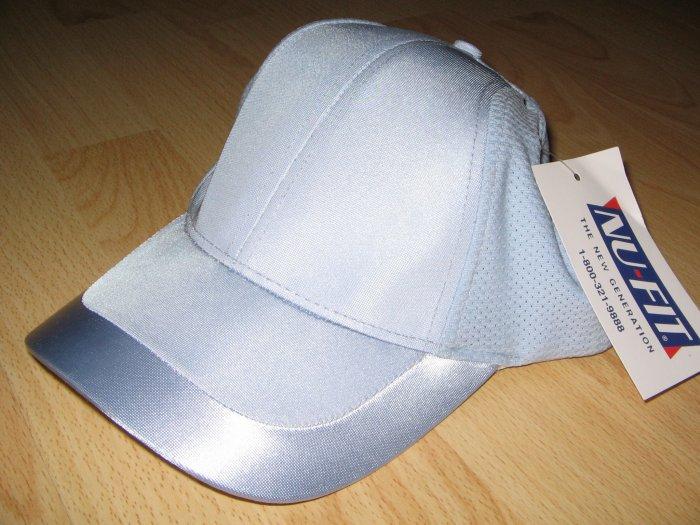 Nu-Fit Full Back Hat w/satin stripe