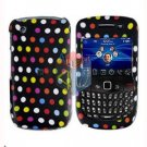 FOR BLACKBERRY CURVE 8520 8530 COVER HARD CASE R-DOT