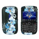 FOR BLACKBERRY CURVE 8520 8530 COVER HARD CASE FLOWER
