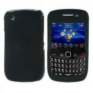 FOR BLACKBERRY CURVE 8520 8530 COVER HARD CASE BLACK