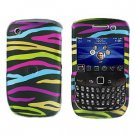FOR BLACKBERRY CURVE 8520 8530 COVER HARD CASE RAINBOW